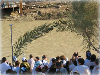 Крестный ход от монастыря св. прав. Иоанна Предтечи до места Крещения